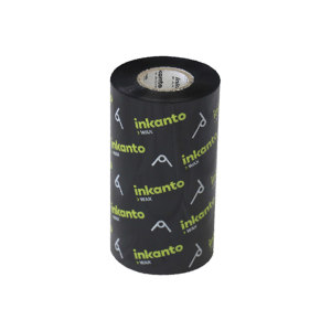 INKANTO 高竞争力蜡基碳带 AWR1 110mm×300m 黑色 通用 管芯25mm 1卷