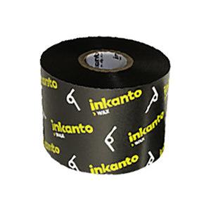 INKANTO 标准蜡基碳带 AWR8 110mm×300m 黑色 通用 管芯25mm 1卷