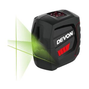 DEVON/大有 绿光两线标线仪 LL2XG 激光参数515nm 内置锂电池 IP54 三防软包 旋转底座 彩盒 1台