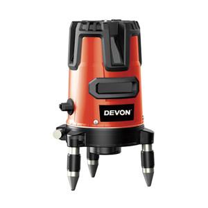 DEVON/大有 筒形绿光三线标线仪 9319-3XG-Li IP54 一体式防尘 内置锂电池 增亮点 铝盒 1台