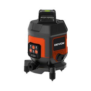 DEVON/大有 筒形三线标线仪 9321-3X-Ci IP54 斜线锁定 内置锂电池 水平360°环绕 塑盒 1台