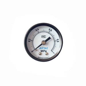 AIRTAC/亚德客 气源附件压力表 F-GS5010M 压力范围0~1MPa 标准式 表盘外径50mm 接口Rc1/4 1个
