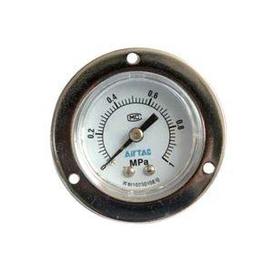 AIRTAC/亚德客 气源附件压力表 F-GF4010M 压力范围0~1MPa 标准式 表盘外径40mm 接口PT1/8 1个