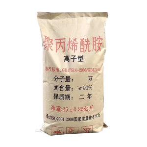 XINQI/新奇 聚丙烯酰胺 阴离子 分子量≥           1600万 CAS号9003-05-8 25kg 1袋