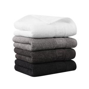 GRACE/洁丽雅 纯棉毛巾 8944 760×360mm 咖啡色/灰色/深灰色/白色随机发货 含棉量100% 146g 1条