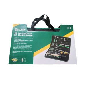 SATA/世达 基本电工维修组套 SATA-03780(升级款) 25件 1套