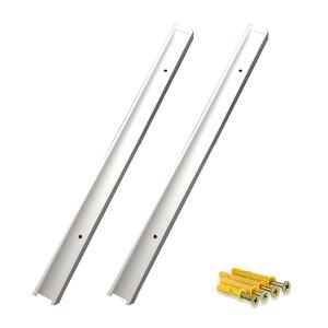 JNDL/金能电力 铝合金挡鼠板卡槽 JN-DSBKC-K01 高50cm 卡槽外径3cm 带膨胀螺丝2个 1个