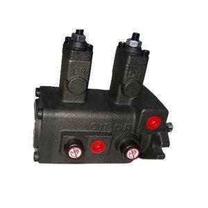 "HABOR/哈伯 双联油泵 HBP-F2012-A0A0-2 出油量12L/min 接口1/2"" 3/8"" 适用液压油46号 1台"
