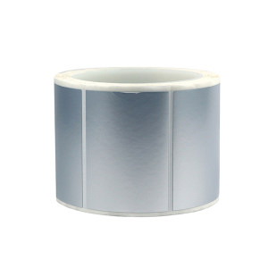 "BLIVE PET亚银标签纸 BL-YY-80*50-2800-10 80×50mm 3""大卷芯 2800张×10卷 1包"