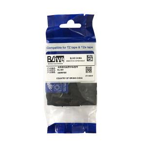 BLIVE 色带 BL-251 24mm×8m 白底黑字 1卷