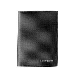 SAMSONITE/新秀丽 护照夹 60Q*09008 100×136×10mm 外部牛剖层革 内部织物 黑色 1个