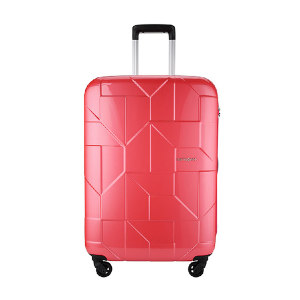 SAMSONITE/新秀丽 四轮拉杆箱粉色66/24 I60*89002 450×660×290mm 外部聚碳酸酯(PC) 内部织物 1个