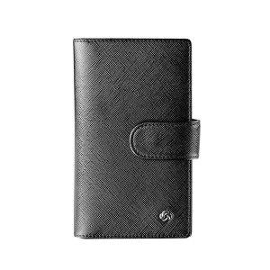 SAMSONITE/新秀丽 信用卡包 BN5*09001 82×142×25mm 外部牛剖皮革 内部织物 黑色 1个
