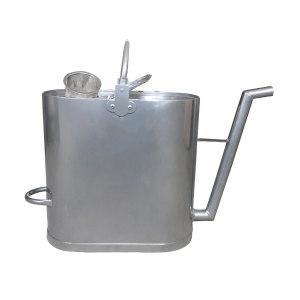 BOFANG/渤防 铝制加油壶 1349C-20L 20L 进口/出口带过滤网 1个