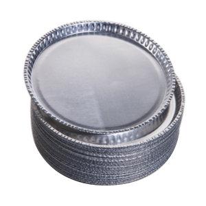 LEIGU/垒固 水份仪称量铝盘 W-010001-1 H1008 50只/盒 上口直径100mm 底部直径92mm 1盒