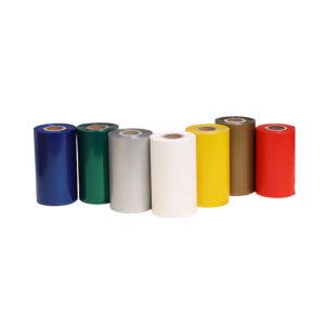 JH/锦禾 进口彩色混合基碳带 JH181KColor 50mm×300m 黄色 管芯25mm 1卷