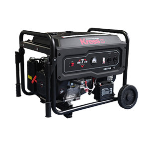 KRESS/卡胜 汽油发电机 KE070E 7kW 电启动 单相 1台