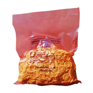 GC/国产 米黄色防静电指套 米黄色防静电指套 均码(M) 无粉 500g 1包
