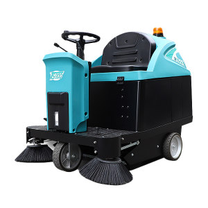 TVX/特沃斯 小型驾驶扫地机 TS1300 DC24V 清洁效率7315m²/h 清扫宽度1.33m 滚刷600W 抖尘100W 吸尘380W 电瓶12V×2 1台