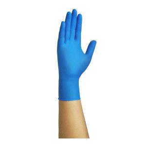 ASAP/奥斯科 特厚型医用丁腈检查手套 特厚型医用丁腈检查手套 M 4.5g±0.2g 蓝色 无粉 1盒