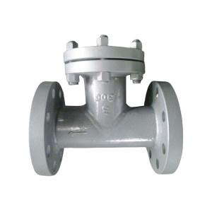 YUANDA/远大阀门 直流式T型过滤器 SRT34-25P-DN100 法兰连接接口 304不锈钢阀体 目数40  1台