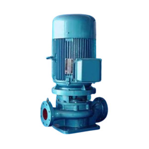 GUANGYIPUMP/广一泵业 管道式离心泵 GD80-30 额定流量42m3/h 额定扬程30m 5.5kW AC380V 铸铁 普通2级能效电机 1台