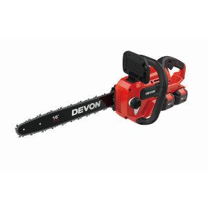 DEVON/大有 20V锂电无刷链锯 4556-Li-40(含两电一充) 含5150-Li-20-52电池两个+5340-Li-20R充电器一个 1台
