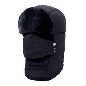 SAFEWARE/安赛瑞 普通款防寒帽 25407 L 黑色 1个