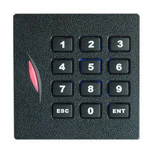 ZKTECO/中控智慧 KR102系列射频卡读卡器 KR102E 带键盘 Wiegand26 适用ID卡 1个