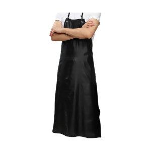 XYFH/轩延防护 复合防水双色围裙 WQ102 均码 黑色 约110cm 1条