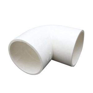 ZHONGCAI PIPES/中财管道 PVC弯头 1寸 32mm 白色 1只