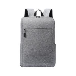 HYX/恒源祥 时尚简约双肩包 HYX005XB 110×280×400mm 织物 黑色/灰色/蓝色/酒红色随机 里布织物面料 1个