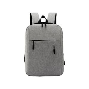 HYX/恒源祥 商务双肩电脑包 HYX010XB 290×100×410mm 织物 黑色/灰色/蓝色/酒红色随机 里布织物面料 1个