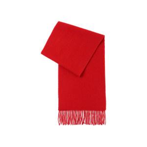 HYX/恒源祥 纯羊毛围巾 HYX010WJ 300×1800mm 大红色 1条