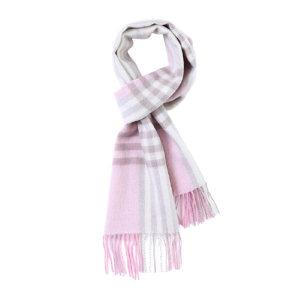 HYX/恒源祥 纯羊毛围巾 HYX012WJ 300×1800mm 粉色格纹 1条