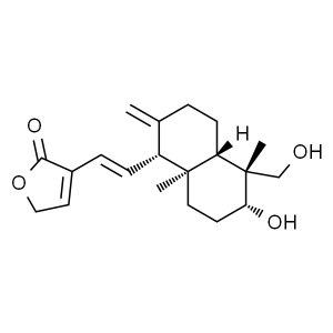 JK/百灵威 14-去氧-11,12-二去氢穿心莲内酯 776350-5mg 对照品 1瓶