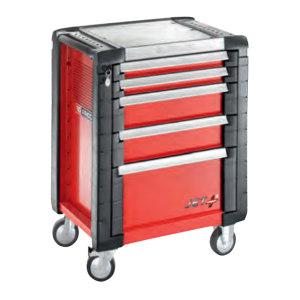 FACOM/法康姆 JET+系列5抽屉工具柜 JET.5M3 红色 1台