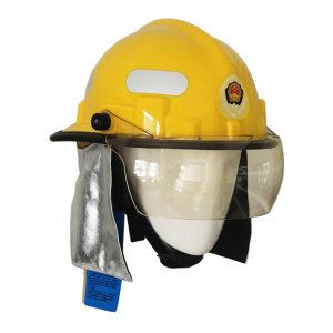 JIUPAI/九派 韩式消防头盔 FTK-B/B 黄色 增强尼龙 3C认证 1顶
