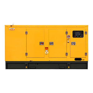 KUAKE/夸克 80kW柴油发电机组 QKGF-WCJY-80kW 黄色 潍柴低噪音款 动力型号WP4.1D100E200 1台