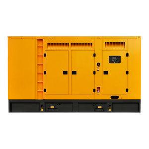 KUAKE/夸克 300kW柴油发电机组 QKGF-WCJY-300kW 黄色 潍柴低噪音款 动力型号WP12D317E200 1台