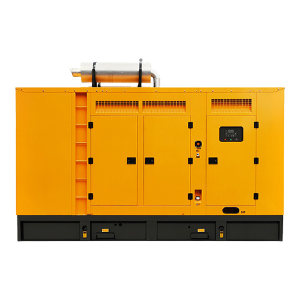 KUAKE/夸克 550kW柴油发电机组 QKGF-WCJY-550kW 黄色 潍柴低噪音款 动力型号6M33D633E200 1台