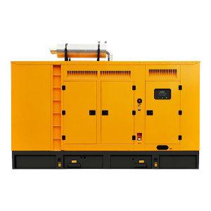 KUAKE/夸克 600kW柴油发电机组 QKGF-WCJY-600kW 黄色 潍柴低噪音款 动力型号6M33D670E200带ATS功能 1台