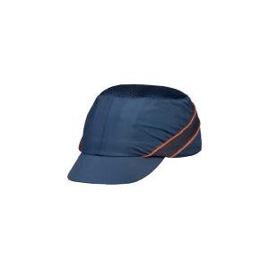 DELTA/代尔塔 COLTAAIBMSH轻型防撞安全帽 102150 藏青色(BM) 帽檐长度5cm PU涂层 PE帽壳 1顶