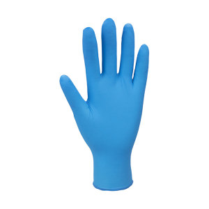 ANDANDA/安丹达 一次性丁腈手套 10316B M 3.7±0.3g 无粉指麻 蓝色 丁腈橡胶 掌厚0.07mm 长230~240mm 100只 1盒
