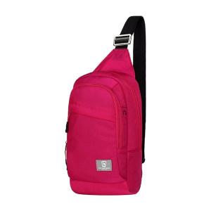 OIWAS/爱华仕 胸包 OCK5530U 180×65×310mm 织物 玫红色 1个