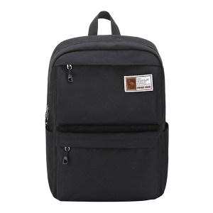 OIWAS/爱华仕 简约尼龙防水双肩包 OCB4631 420×160×310mm 黑色 1个