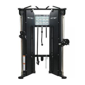 HREN 多功能双轨训练器(小飞鸟) FFITTECHFS86 组装尺寸110×161×225cm 410kg 配重100kg×2 1台