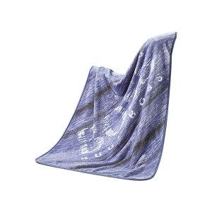 HUGO BOSS/雨果波士 条纹毯 HBMT-022 1×1.4m 钴蓝色 面料聚酯纤维 420g 手拎瓦楞盒310×270×100mm 1条