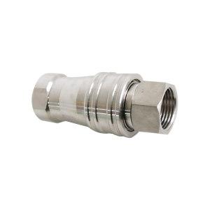 CAFER 高压快插接头(含公母头) DN25 快装连接 304不锈钢 1套