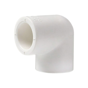 LESSO/联塑 90°弯PP-R配件 DN50 DN50 白色 1只